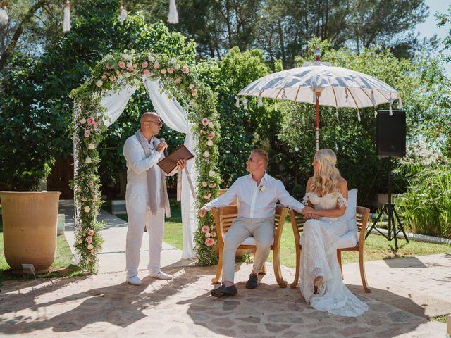 La boda de John y Ruth en Eivissa, Islas Baleares 8