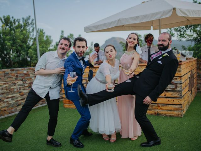 La boda de Jaime y Aidan en Albalat Dels Tarongers, Valencia 83