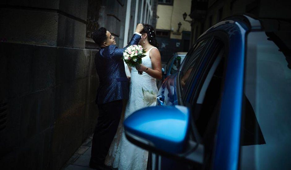 La boda de Raquel  y Cathaysa  en Las Palmas De Gran Canaria, Las Palmas