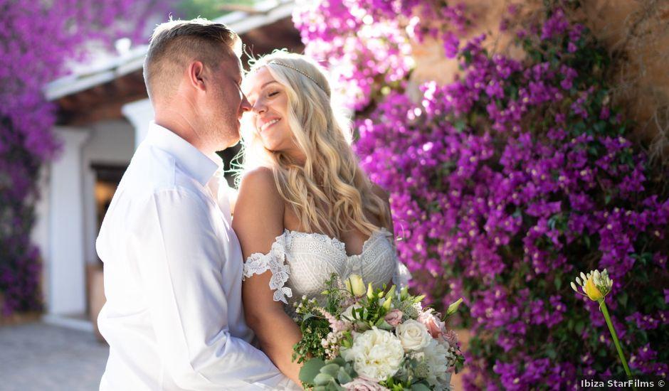 La boda de John y Ruth en Eivissa, Islas Baleares