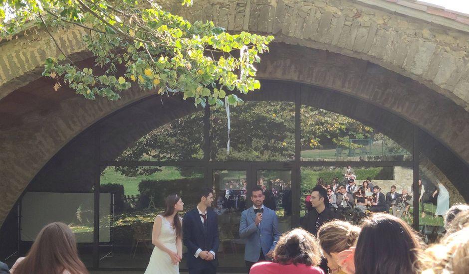 La boda de Joan y Rebekah en Ciuret, Girona