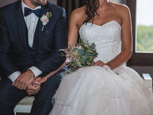 La boda de Eric y Mariona en Sant Gregori (Municipio), Girona 12