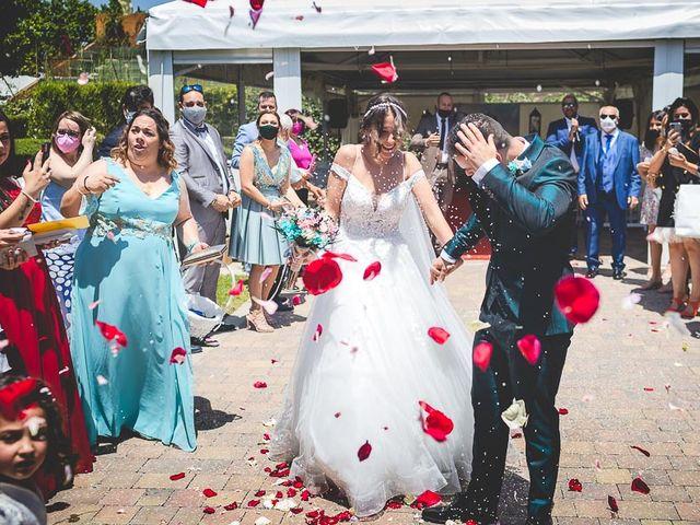 La boda de Vicki y José en Leganés, Madrid 40