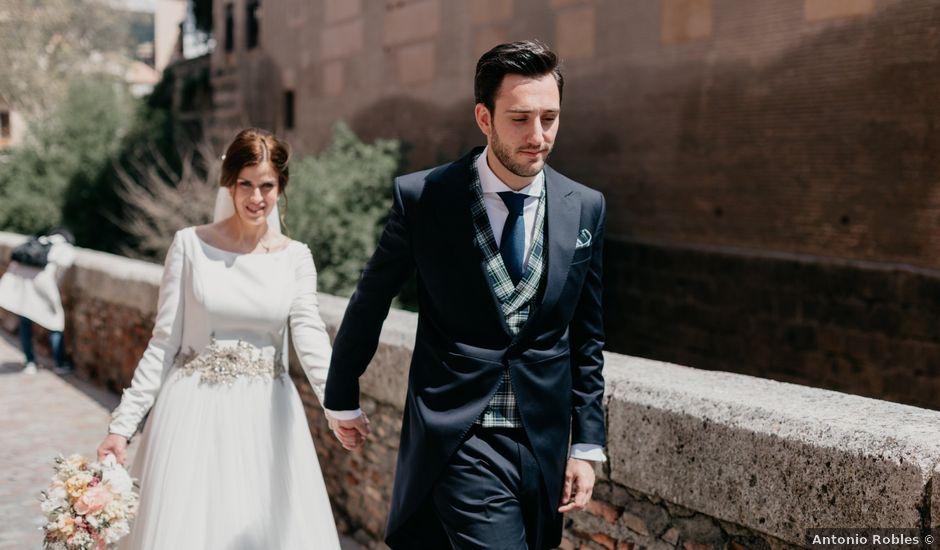 La boda de Alvaro y Ana en Granada, Granada