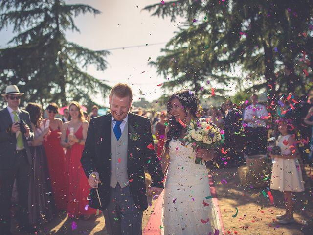 La boda de Lara y Joe