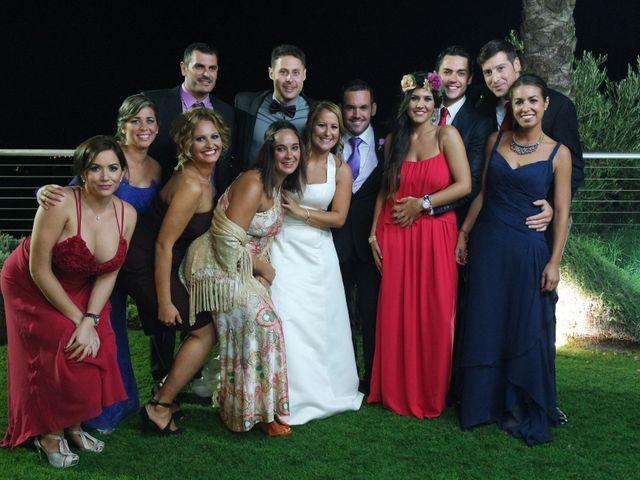 La boda de Fran y Cristina en Málaga, Málaga 33