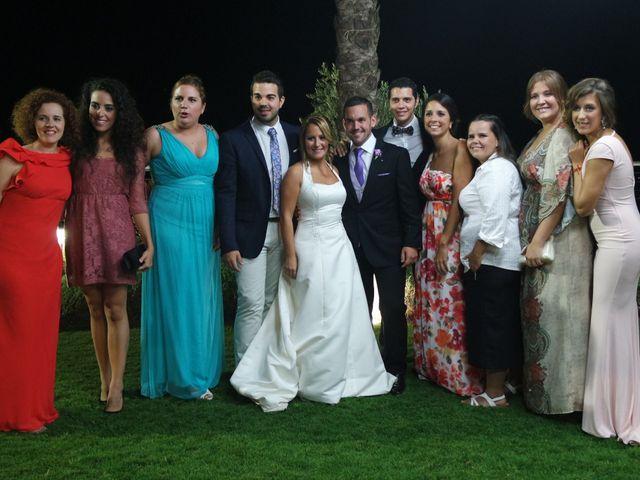 La boda de Fran y Cristina en Málaga, Málaga 35