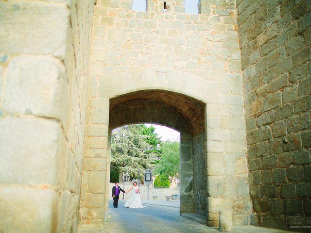 La boda de Julio y Cristina en Ávila, Ávila 2