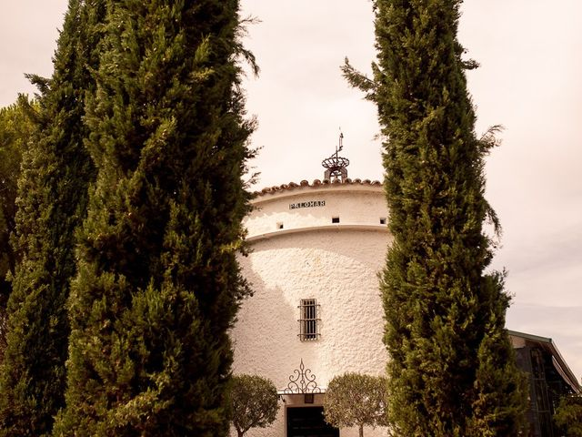 La boda de Carlos y Amanay en Valdetorres De Jarama, Madrid 1
