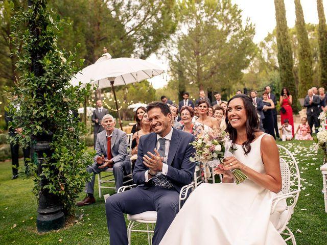 La boda de Carlos y Amanay en Valdetorres De Jarama, Madrid 36