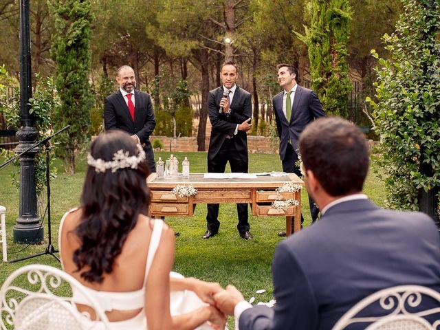 La boda de Carlos y Amanay en Valdetorres De Jarama, Madrid 39
