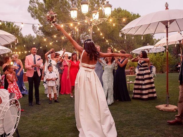 La boda de Carlos y Amanay en Valdetorres De Jarama, Madrid 85