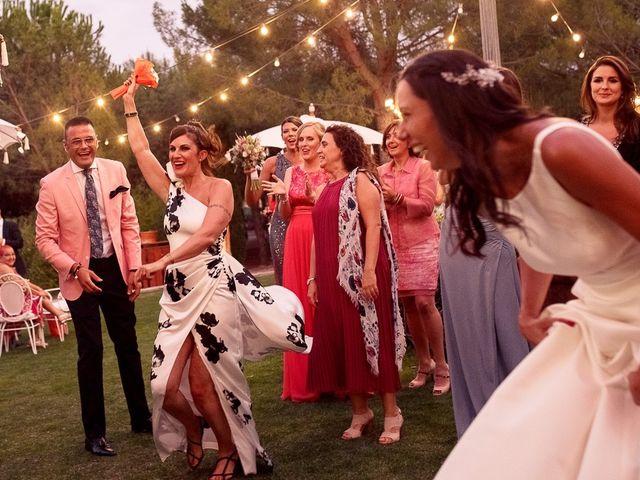 La boda de Carlos y Amanay en Valdetorres De Jarama, Madrid 88