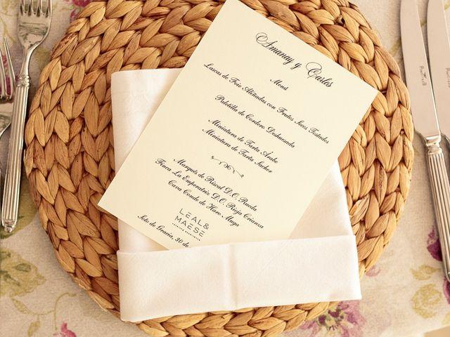 La boda de Carlos y Amanay en Valdetorres De Jarama, Madrid 99