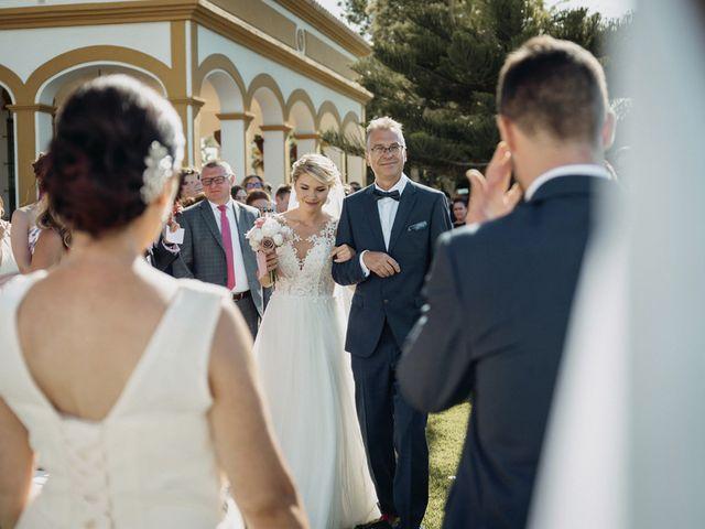 La boda de Josué y Kathy en Dos Hermanas, Málaga 26