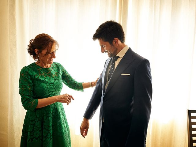 La boda de Juan Antonio y Carmen en Villafranca De Los Barros, Badajoz 7