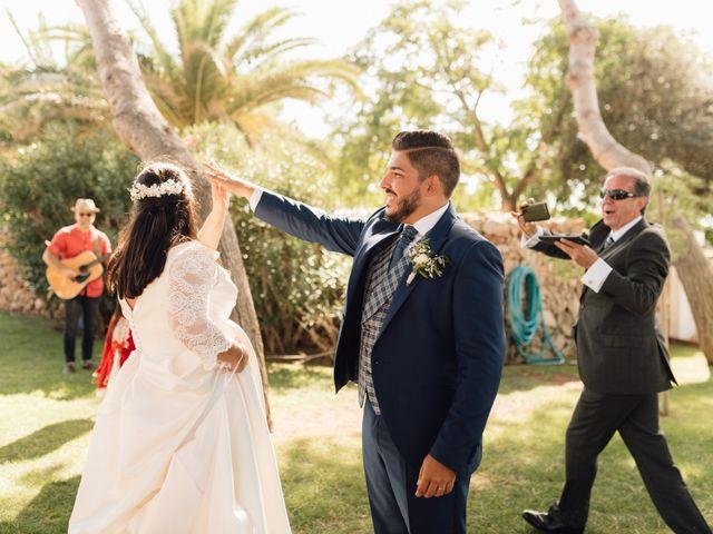 La boda de Laura y Fer en Es Castell/el Castell, Islas Baleares 41