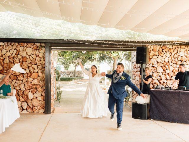 La boda de Laura y Fer en Es Castell/el Castell, Islas Baleares 49