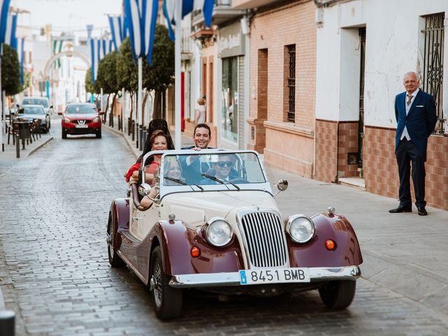 La boda de Manolo y Isabel en Viso Del Alcor, Sevilla 54