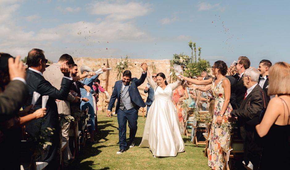 La boda de Laura y Fer en Es Castell/el Castell, Islas Baleares