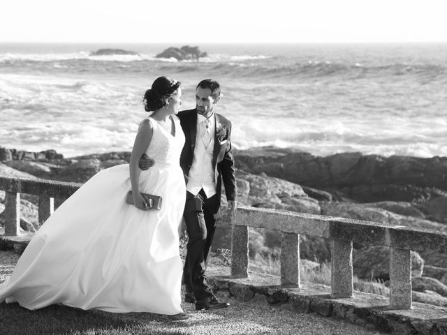 La boda de Abraham y Tere en Oia, Pontevedra 4