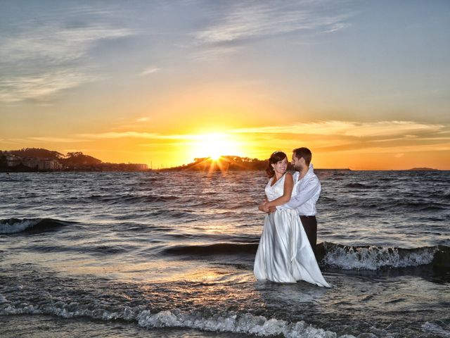 La boda de Abraham y Tere en Oia, Pontevedra 2