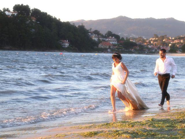 La boda de Abraham y Tere en Oia, Pontevedra 5