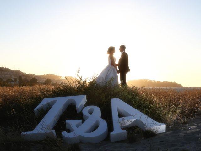 La boda de Abraham y Tere en Oia, Pontevedra 6