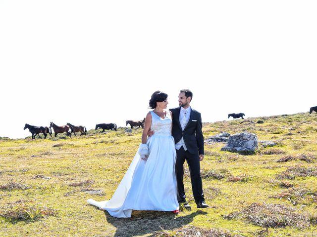 La boda de Abraham y Tere en Oia, Pontevedra 9