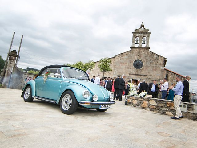La boda de Chus y Jessy en O Burgo (Burgo), A Coruña 14