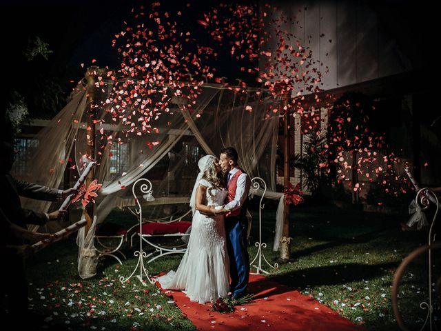 La boda de Emily y Dani