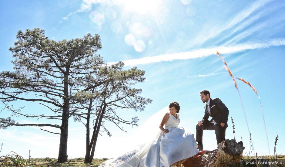 La boda de Abraham y Tere en Oia, Pontevedra