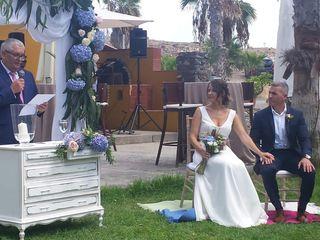 La boda de Lourdes y Luis