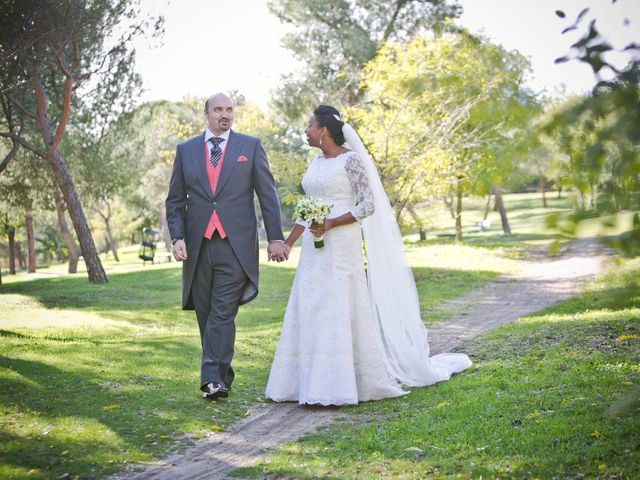 La boda de Ángel y Rosa en Madrid, Madrid 2