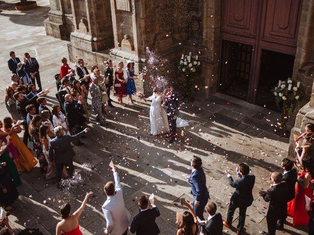La boda de Jean-Yves y María en Santiago De Compostela, A Coruña 1