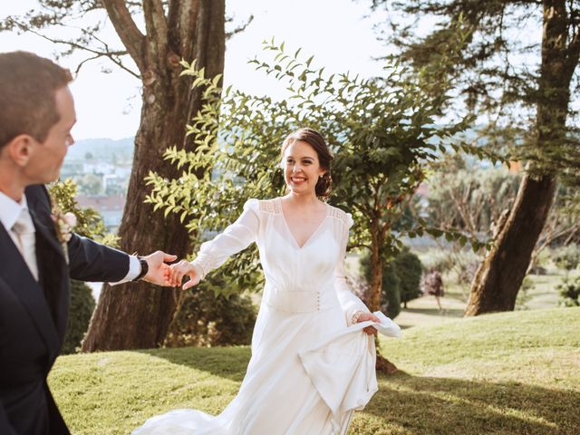 La boda de Jean-Yves y María en Santiago De Compostela, A Coruña 22