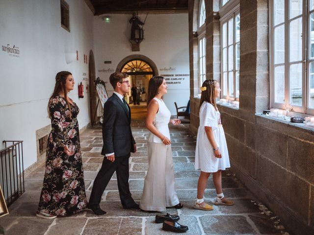 La boda de Jean-Yves y María en Santiago De Compostela, A Coruña 30