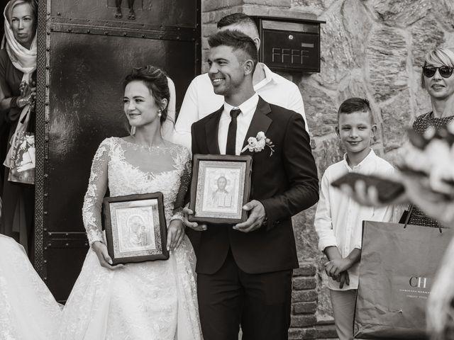 La boda de Alex y Hanna en Sant Vicenç De Montalt, Barcelona 35
