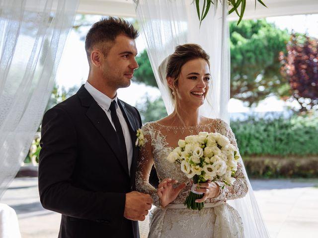 La boda de Alex y Hanna en Sant Vicenç De Montalt, Barcelona 55