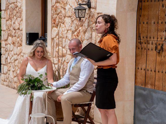 La boda de Andrew y Irene en Montuïri, Islas Baleares 32