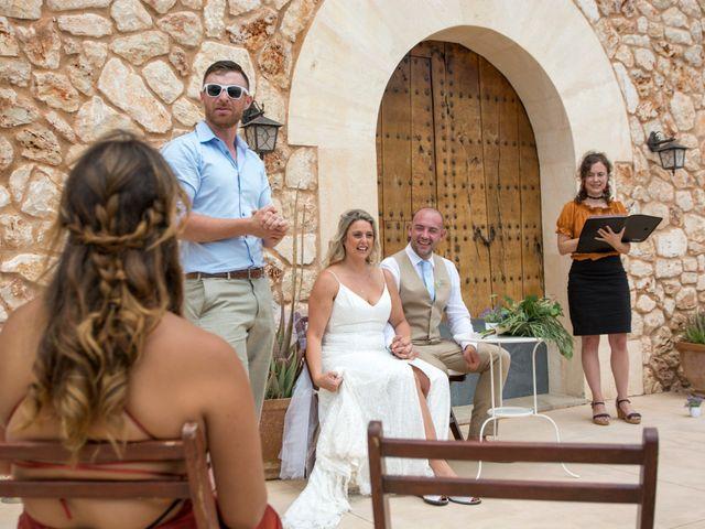 La boda de Andrew y Irene en Montuïri, Islas Baleares 67