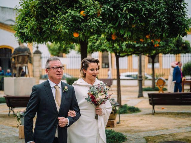 La boda de Alberto y Estefania en Jerez De La Frontera, Cádiz 21