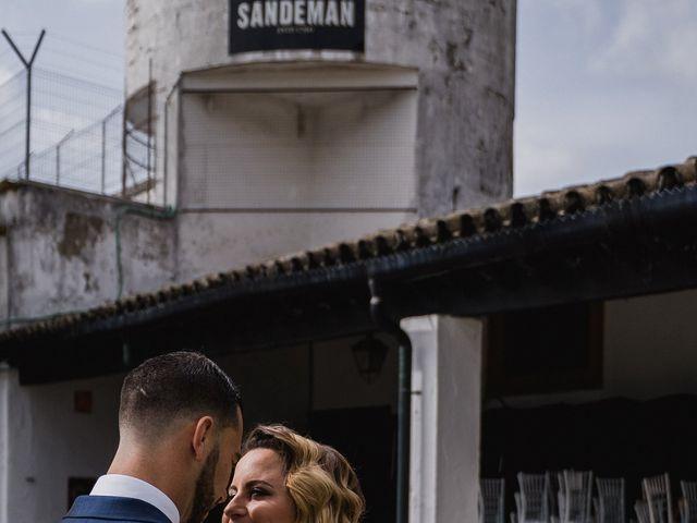 La boda de Alberto y Estefania en Jerez De La Frontera, Cádiz 25