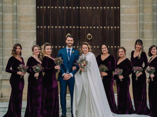 La boda de Alberto y Estefania en Jerez De La Frontera, Cádiz 42