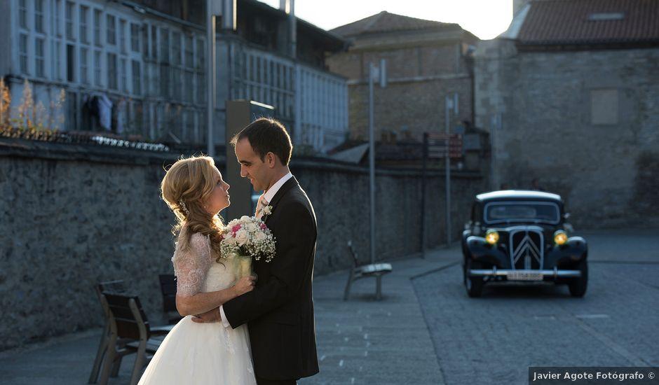 La boda de Asier y Niamh en Vitoria-gasteiz, Álava
