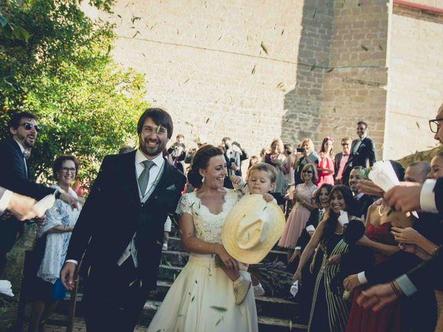 La boda de Carlos y Elena en Santa Gadea Del Cid, Burgos 18
