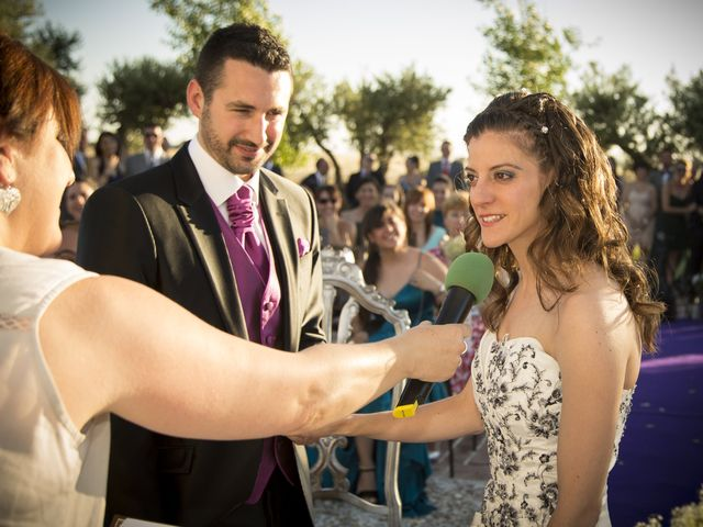 La boda de Mª Angeles y Juan Manuel