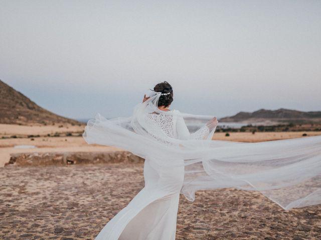 La boda de David y Laura en San Jose, Almería 131