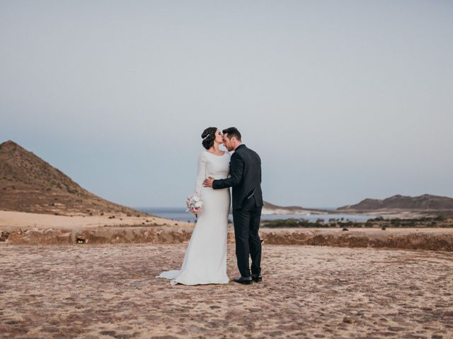 La boda de David y Laura en San Jose, Almería 137