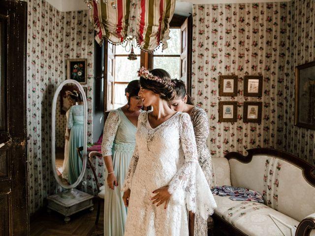 La boda de Luis y Patricia en Alfajarin, Zaragoza 24